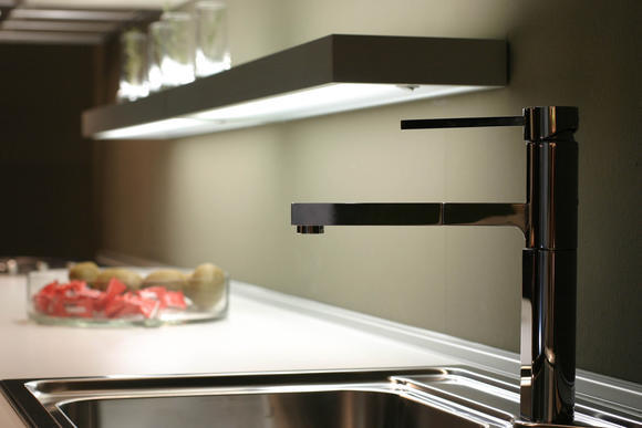 tablette lumineuse cuisine. Black Bedroom Furniture Sets. Home Design Ideas